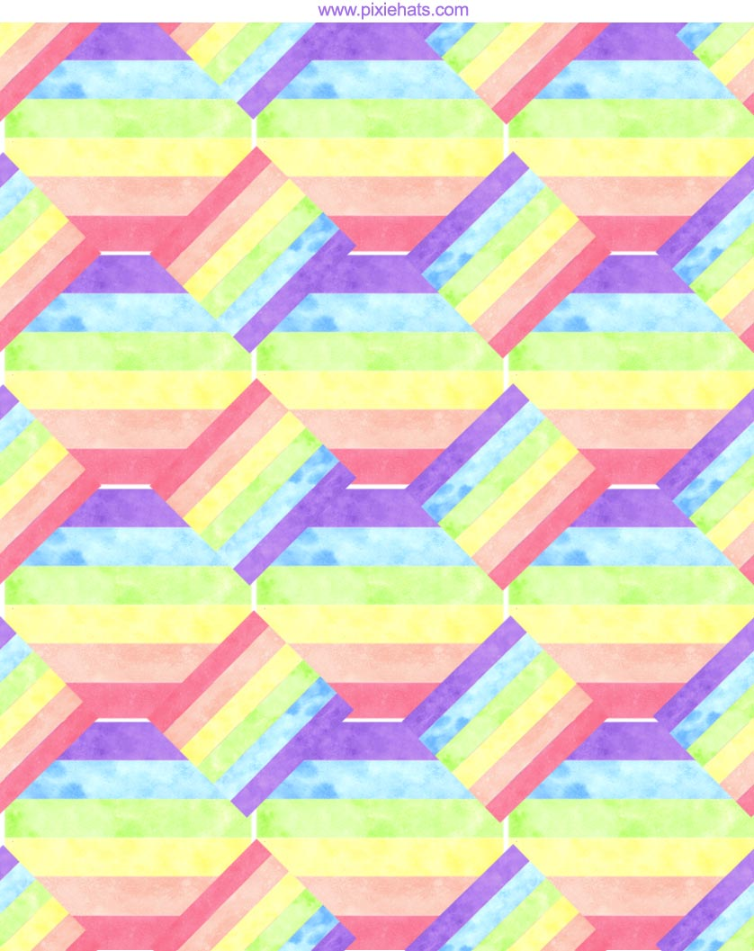 printable rainbow gift wrapping paper
