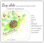 Hedgehog bunting themed bug slide