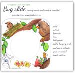 Spring time gardening - seeds and birds bug slide printable