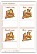 Label up your seed swap collections