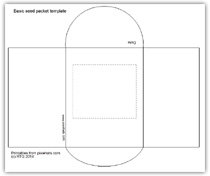 Click to view the full sized seed packet envelope template