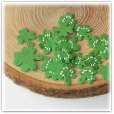 Shamrock clover beads charms