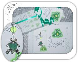 Green themed hoppy frog birthday ..