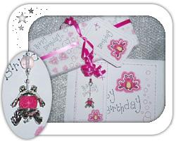 Pink themed hoppy frog birthday ..